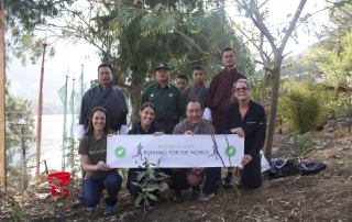 Rooted In Hope works collaboratively with local affiliates on conservation.